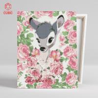 DIY 밤비 보석십자수 액자형 아이러브페인팅