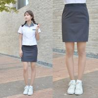 [하복]스판 먹색 교복치마 교복 스커트