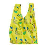 [바쿠백] 휴대용 장바구니 접이식 심슨 에디션 Marge