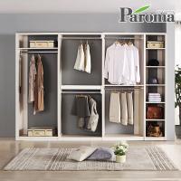 파로마 라라 드레스룸 일자형 4칸A형 (2800x400)