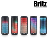 브리츠 휴대용 라이팅 블루투스4.0 스피커 BA-BL9 Sound Show (통화+음악 / 마이크 내장 / MicroSD 카드 입력 단자 & 3.5mm 오디오 AUX 단자 / USB충전)