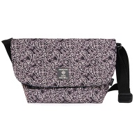 mini cross bag black paisley