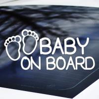 BABY ON BOARD - 초보운전스티커(NEW140)