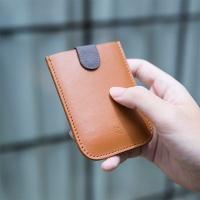 DAX v2 천연가죽 카드 명함 홀더 지갑