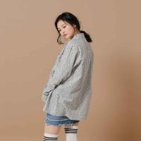 [오알오알] 플라워 셔츠 화이트네이비 R1-015