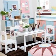 [까쁘레띠] 호페키즈(hoppekids) 테이블 세트- FT pink