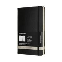 몰스킨 2018프로 위클리(세로형)/블랙 하드 L