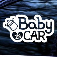 BABY IN CAR - 초보운전스티커(NEW155)