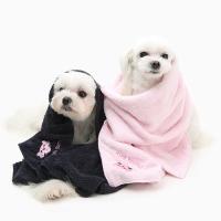 핑크팬더 펫 타월_네이비