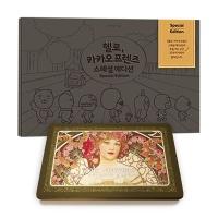 카카오 스페셜 컬러링북+아르누보 36색 틴