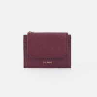 Reims 303S Cover card Wallet burgundy 커버 카드 월렛 버건디