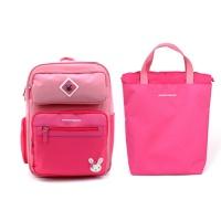 로라 핑크 블록 책가방세트