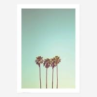여름 바다 해변 풍경 포스터 vol.1_SB08(4야자수)