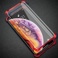 아이폰 XR XS MAX 8 7 플러스 강화유리 풀커버 케이스