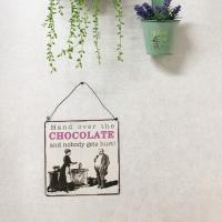 초코렛 사인보드