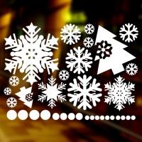 눈꽃스티커(001) - 크리스마스스티커(L사이즈)