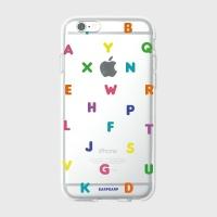 [어프어프] 젤리케이스 Alphabet-rainbow