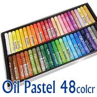 오일파스텔 48색 전문가용 문교 원형파스텔 미술용품