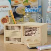 라디오 칠판 연필 꽂이