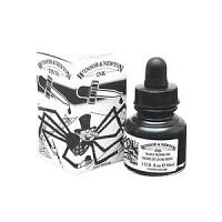 윈저 드로잉잉크 30ml 드롭퍼캡(030_Black Indian Ink)