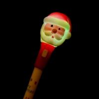 LED점등 크리스마스 산타볼펜