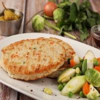 [허닭] 일품 닭가슴살 스테이크 야채 100g