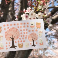 [베베] 벚꽃 스티커