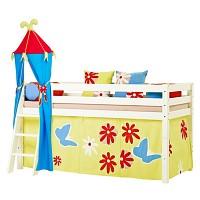 [까쁘레띠] 호페키즈(hoppekids) 버터플라이 중층 침대 세트