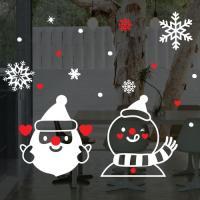 ia525-크리스마스러블리산타와눈사람_그래픽스티커