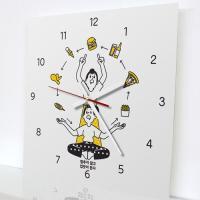 tm599-먹을생각_인테리어벽시계