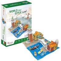 [3D퍼즐마을][W3185h] 월드스타일 이탈리아 (World Style Italy)