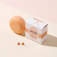 오렌지 마카롱 귀걸이 EONM0043