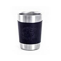 노르딕아일랜드 캠프컵 & 가죽홀더-블랙