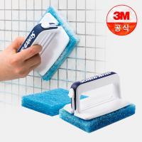 [3M]New 올인원 욕실청소용 크린스틱 핸들 1개+리필 2개