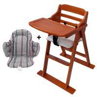 [무료배송][베이비캠프]체리 유아용 식탁의자와 쿠션세트