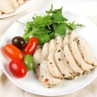 [허닭] 샐러드 슬라이스 닭가슴살 허브믹스 100g 1+1