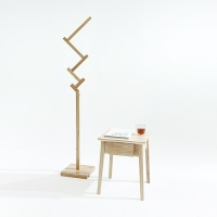 [스크래치] 서랍 사이드 테이블 + 브랜치 행거