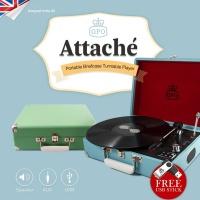 GPO LP 턴테이블 Attache USB 녹음가능 스피커내장