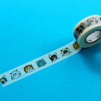 [Mark's] MASTE Masking Tape 고양이-MST-ZB01-C