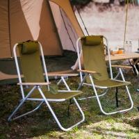 레토 각도조절 접이식 캠핑 릴렉스 체어 의자 LCP-C01