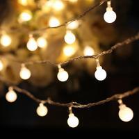 LED 앵두 와이어 등 전구 조명 크리스마스 트리 50구