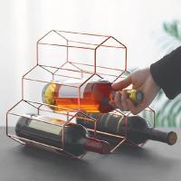 로즈골드와인렉 와인 거치대 장식장 보관함 진열대