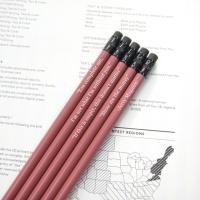 [이니셜/메시지] 원목연필 5본입세트 (Pastel Ver.)