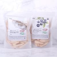 질마재농장 떡 쌀과자 백미80g+현미블루베리80g