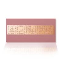 가하 자음모음C 금펄 분홍 가로형 우편봉투