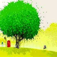 [DIY명화]Q475 행운의나무시리즈 size 50*40cm