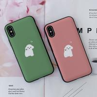 아이폰8플러스 율율 토닥토닥 카드케이스