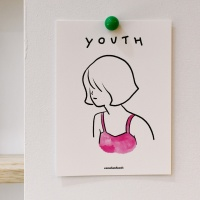 [카멜앤오아시스] Youth - Pink Bikini 청춘 엽서