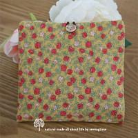 [바느질시간]mini rose 생리대파우치-옐로우