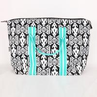 [ALL FOR COLOR]TRAVEL TOTE - AZTEC IKAT